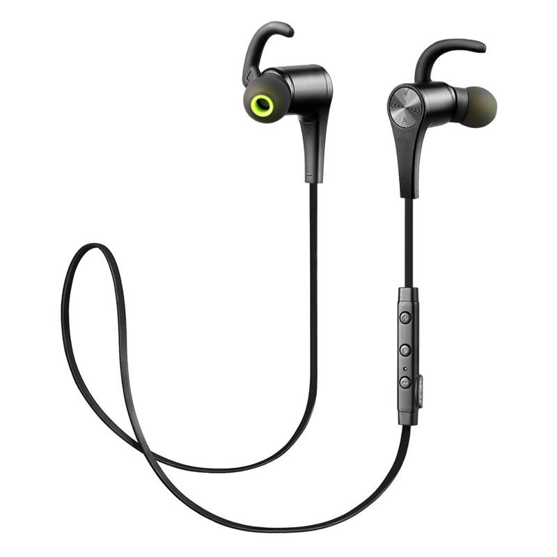 Tai Nghe Bluetooth 4.1 Thể Thao Chống Nước SoundPEATS Q12 - Hàng Chính Hãng