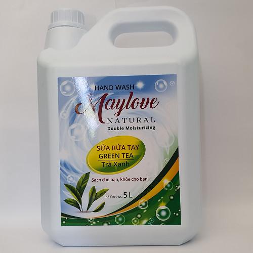 Sữa Rửa Tay Maylove Trà Xanh 5L