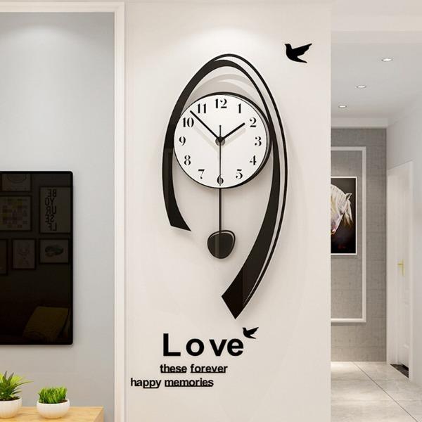 Đồng hồ treo tường quả lắc CL009