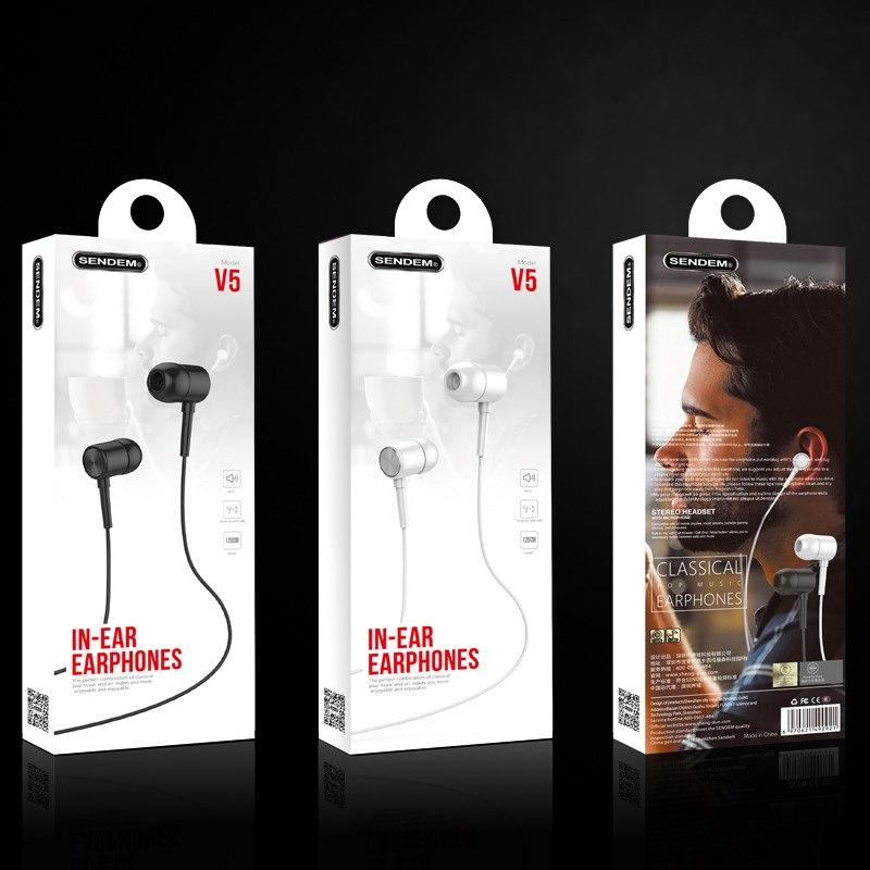 Tai nghe In-Ear Super Bass Sendem V5 - Hàng chính hãng- màu ngẫu nhiên