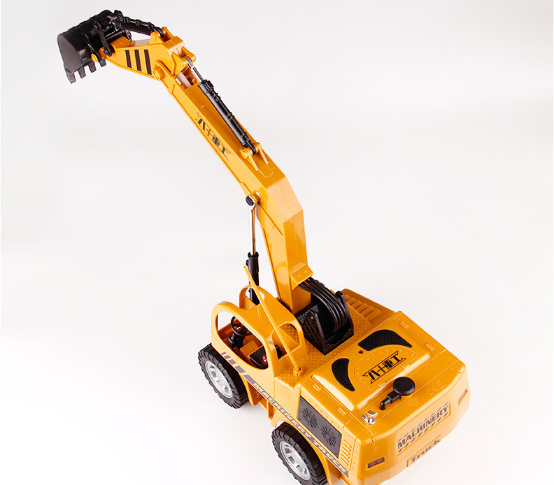 Đồ chơi mô hình - Xe cần cẩu điều khiển cho bé