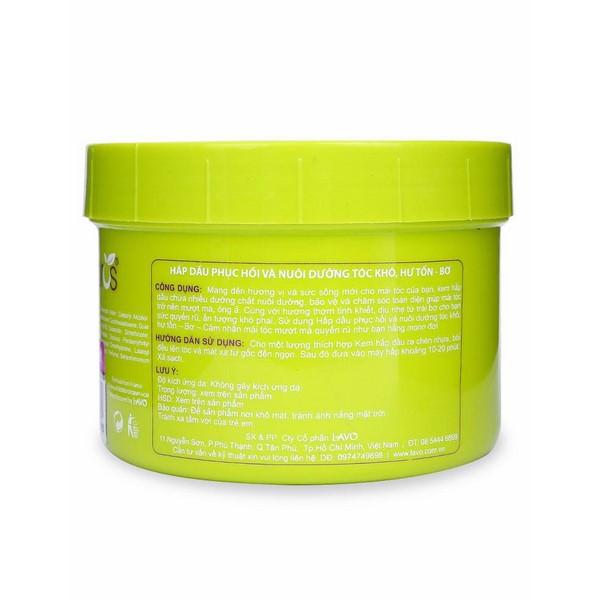 Kem Hấp Dầu M-Pros Phục Hồi Tóc Khô - Bơ Hũ (500ml)