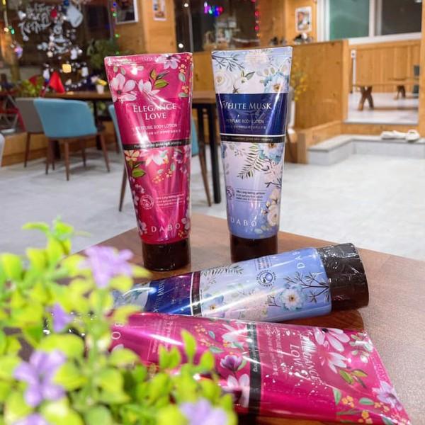 Sữa dưỡng thể nước hoa DABO Body Lotion 200ml tặng móc khóa - Chọn hương