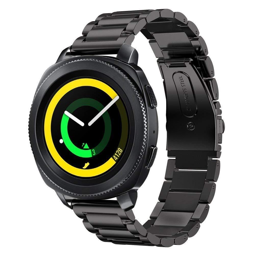 Dây Thép Đen cho Galaxy Watch (Size 22mm)