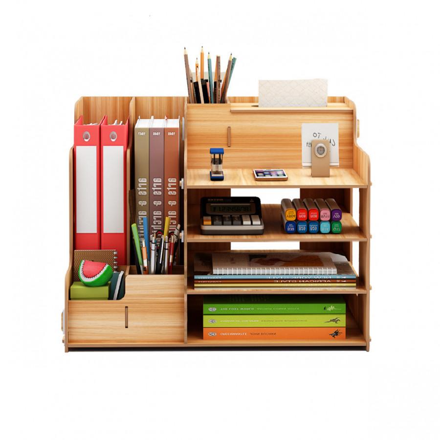 Kệ gỗ văn phòng nhiều ngăn