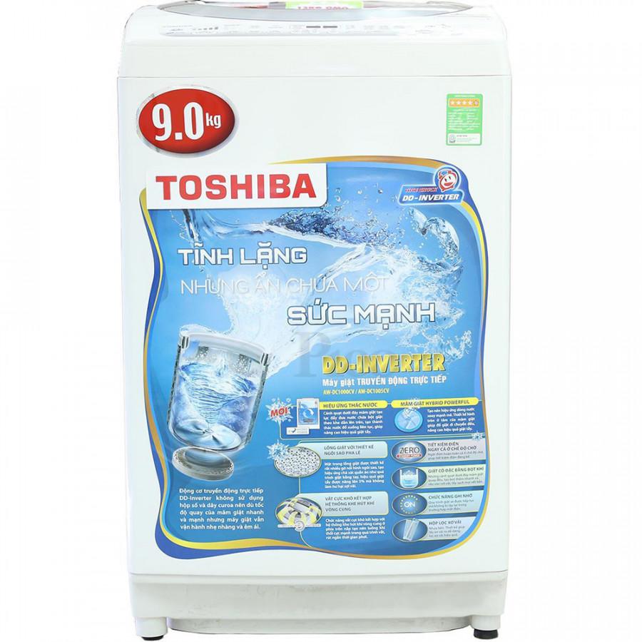 Máy Giặt Cửa Trên Inverter Toshiba AW-DC1000CV (9.0 Kg) - Hàng Chính Hãng