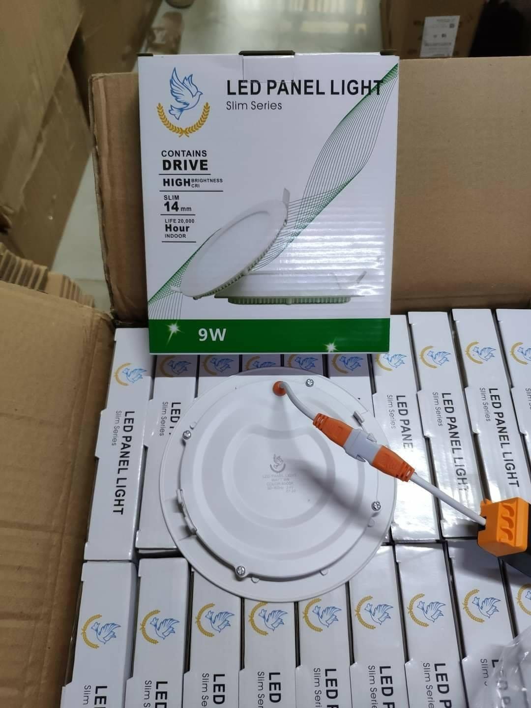 Combo 10 đèn âm trần 9W lỗ khoét 130mm Ánh sáng trắng