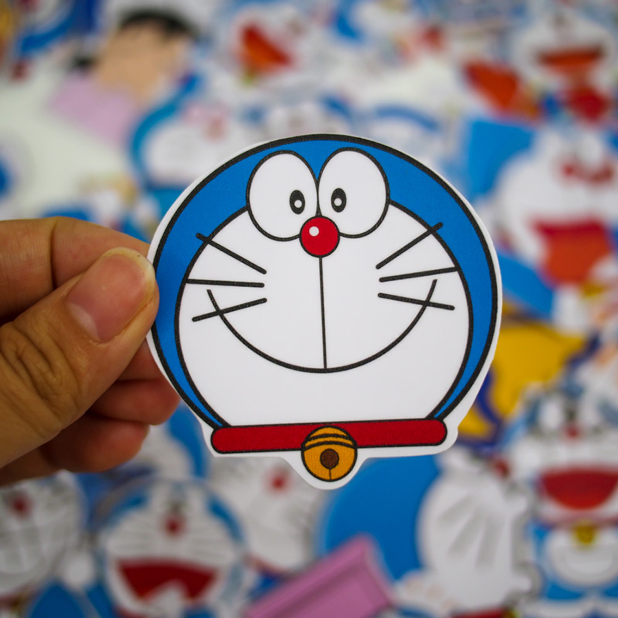 Set 100 Sticker - Doremon