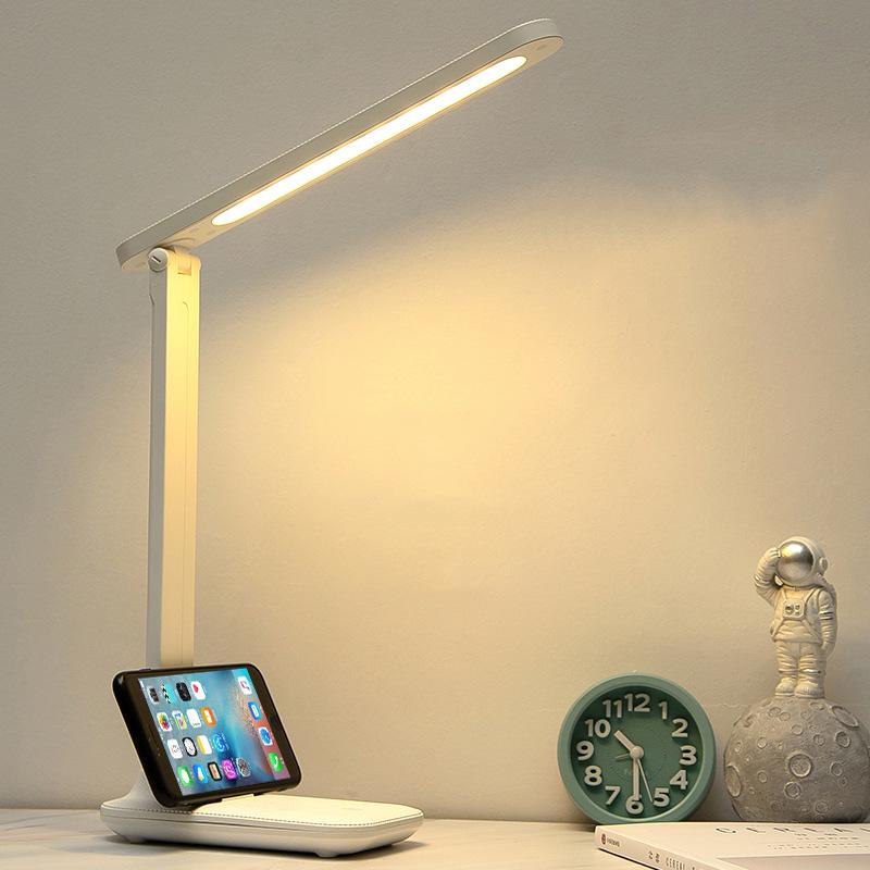 Đèn Bàn Học LED USB Di Động Cao Cấp Có Thể Gập Hai Chỗ – 03 Chế Độ Ánh Sáng Vàng Bảo Vệ Mắt Chống Cận