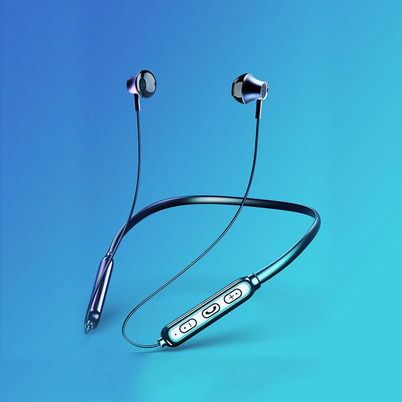 Tai nghe nhạc không dây siêu nhẹ, kết nối Bluetooth 5.0 - Hàng chính hãng