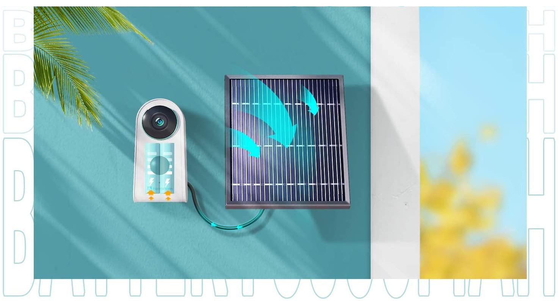 Camera Năng Lượng Mặt Trời Không Dây Heimvision HMD3 1080p - Hàng Chính Hãng