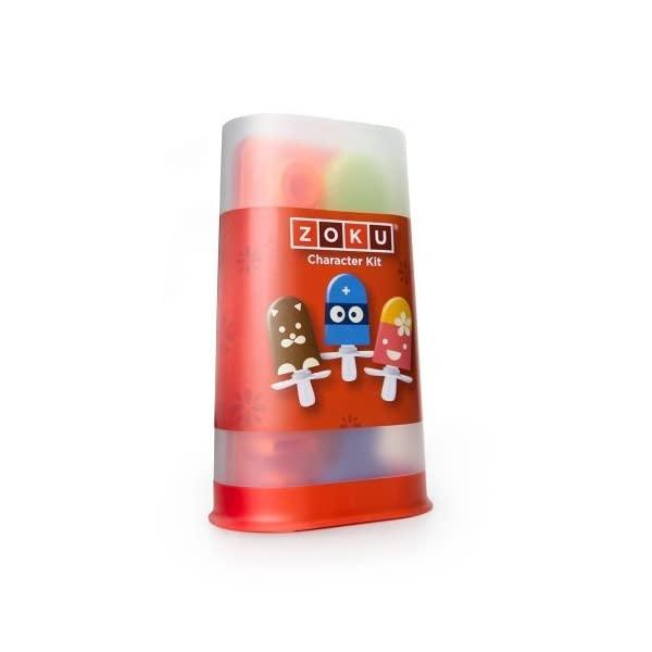 Zoku - Bộ trang trí kem Character - 17 món