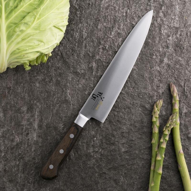 Dao bếp Nhật cao cấp KAI Benifuji Chef - Dao thái thịt cá AB5441 (210mm) - Dao bếp Nhật chính hãng