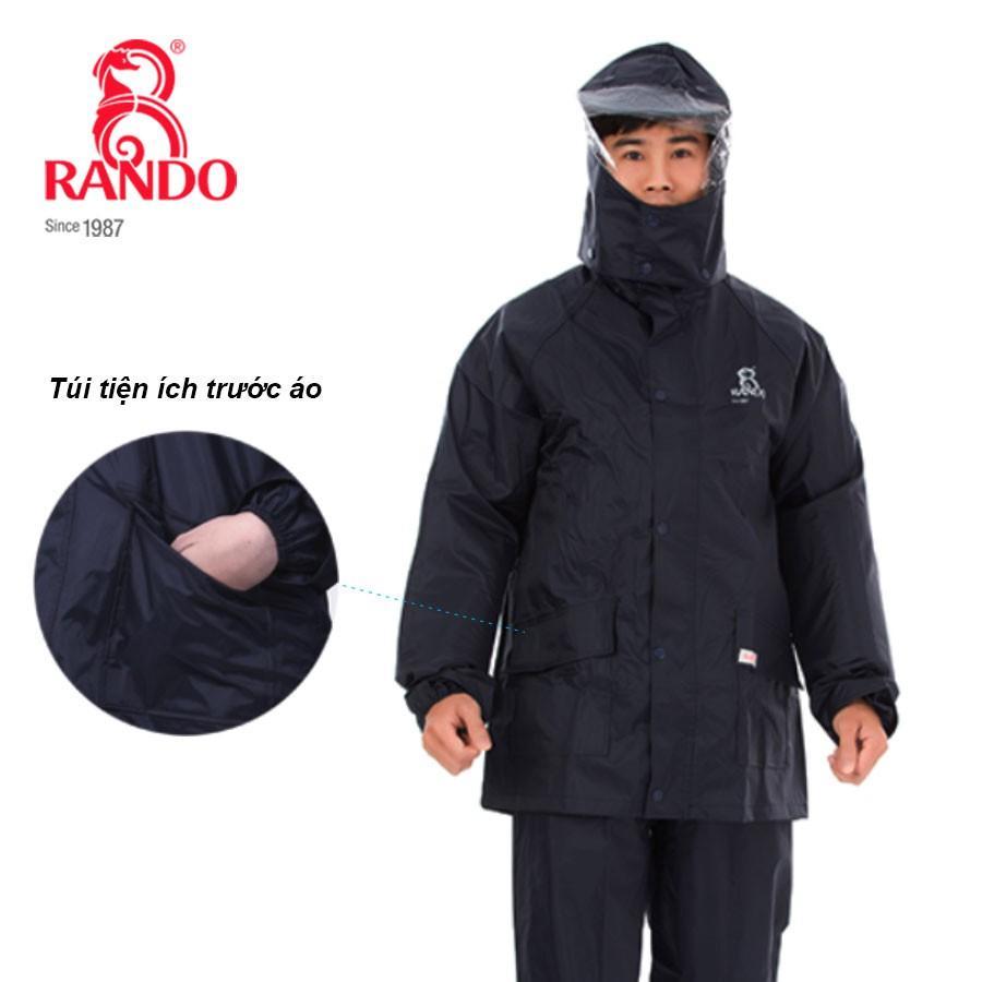Bộ áo mưa BEST thông dụng 1 lớp RANDO