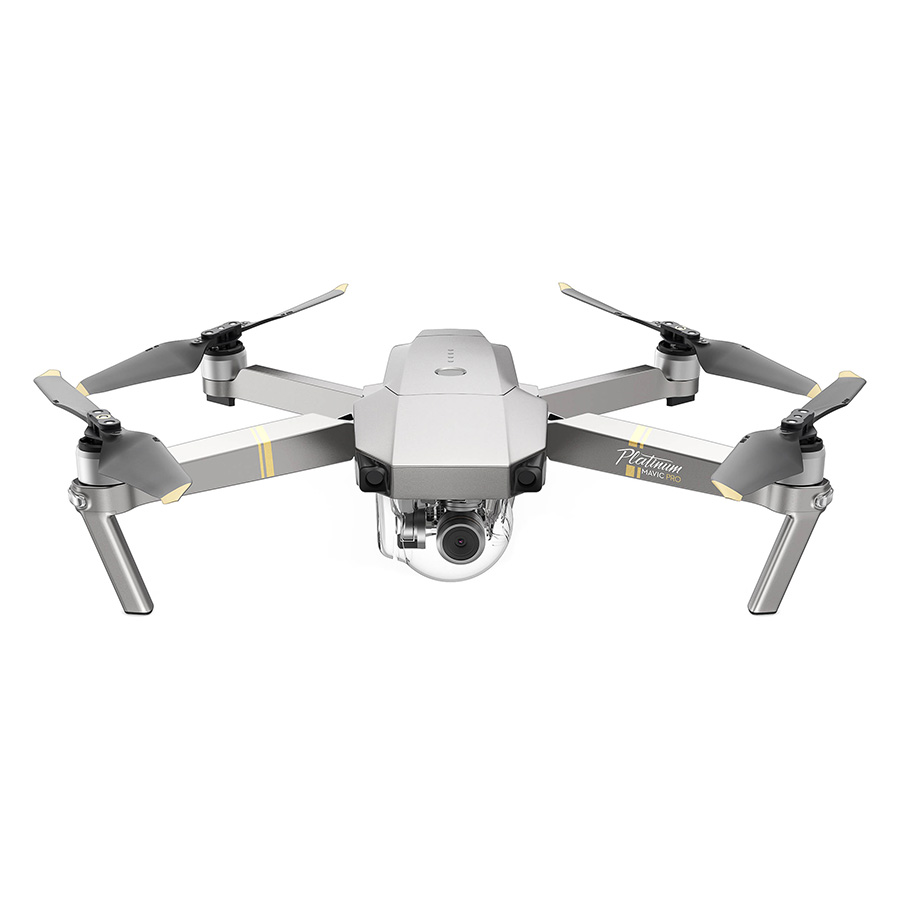 Combo Máy Bay Camera Flycam DJI Mavic Pro Platinum (Xám) - Hàng Chính Hãng