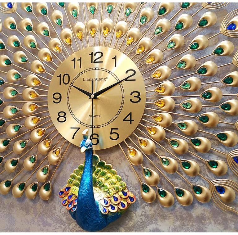 Đồng hồ Treo Tường Khổng Tước MM912YL