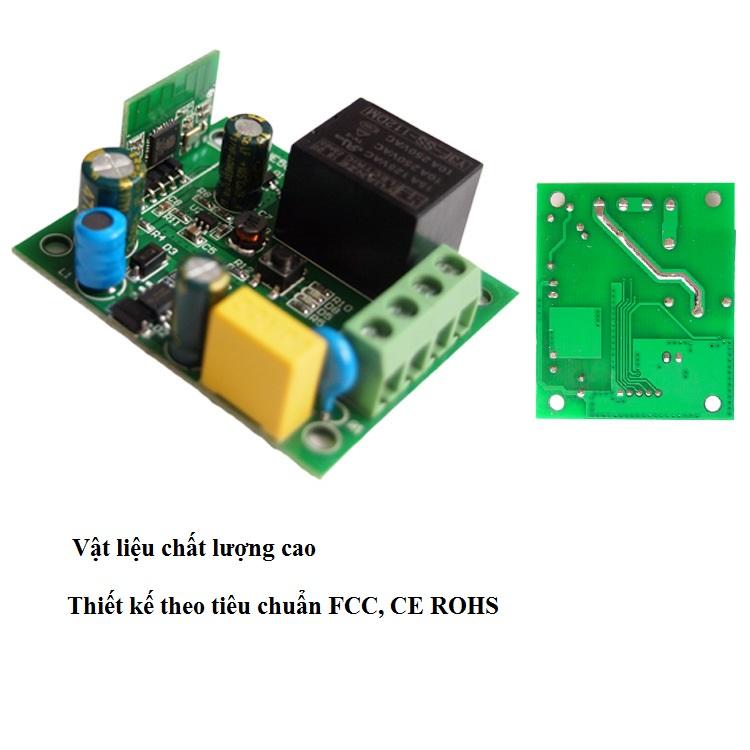 Công tắc bật tắt điều khiển thiết bị điện từ xa bằng Wifi - Hàng chất lượng cao
