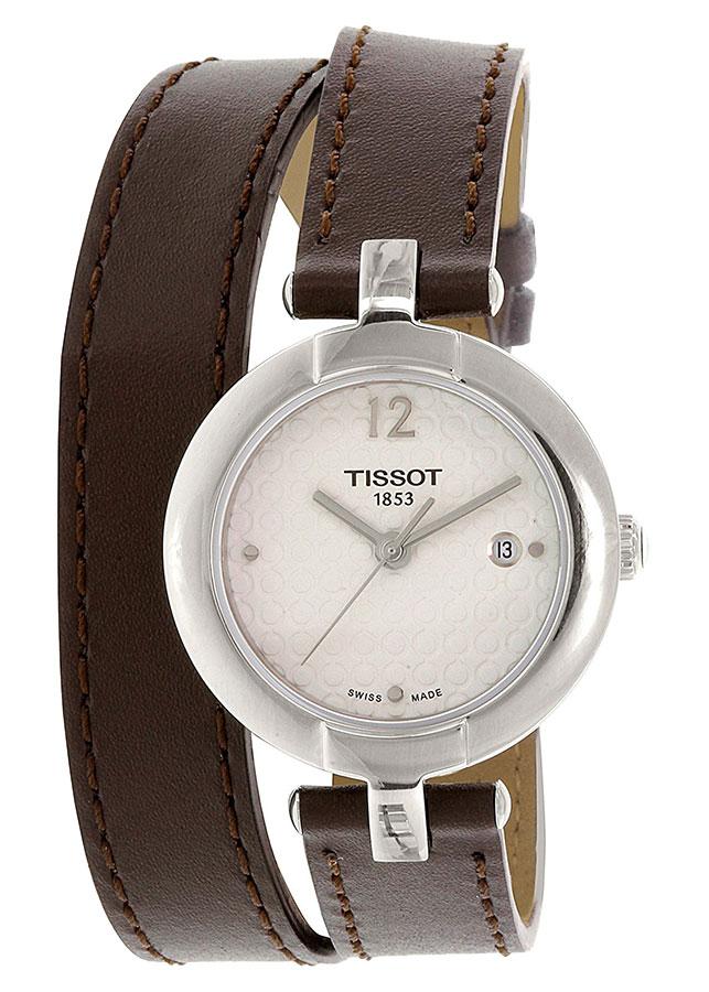 Đồng Hồ Nữ Dây Da Tissot T084.210.16.017.03 (27.95mm) - Nâu