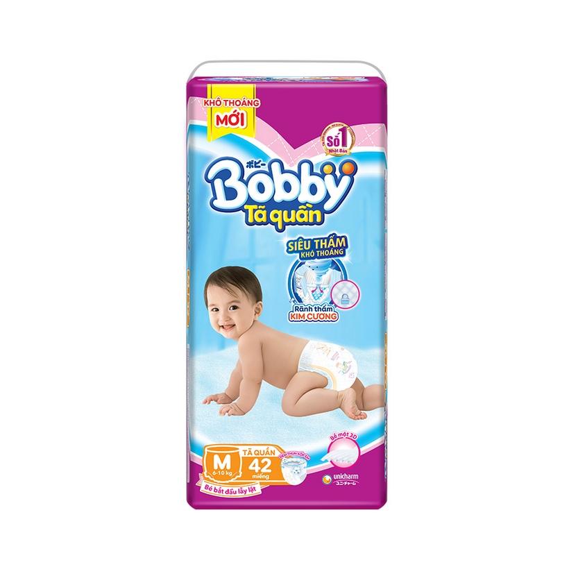 Tã quần Bobby Fresh Siêu Thoáng - M40