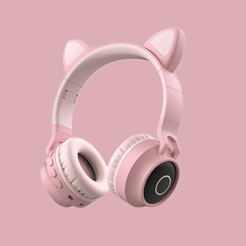 Tai nghe Bluetooth Cute Cat Kiểu Dáng Tai Mèo Không Dây Cao Cấp