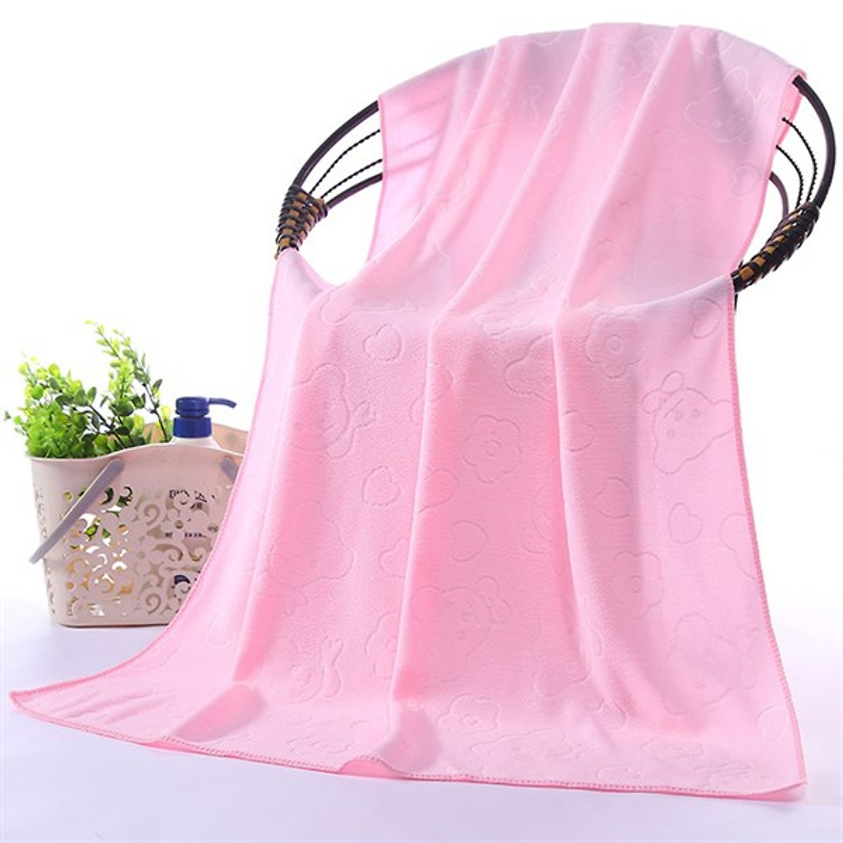 Khăn tắm nhật siêu mềm siêu thấm - khăn tắm khổ rộng 70x140