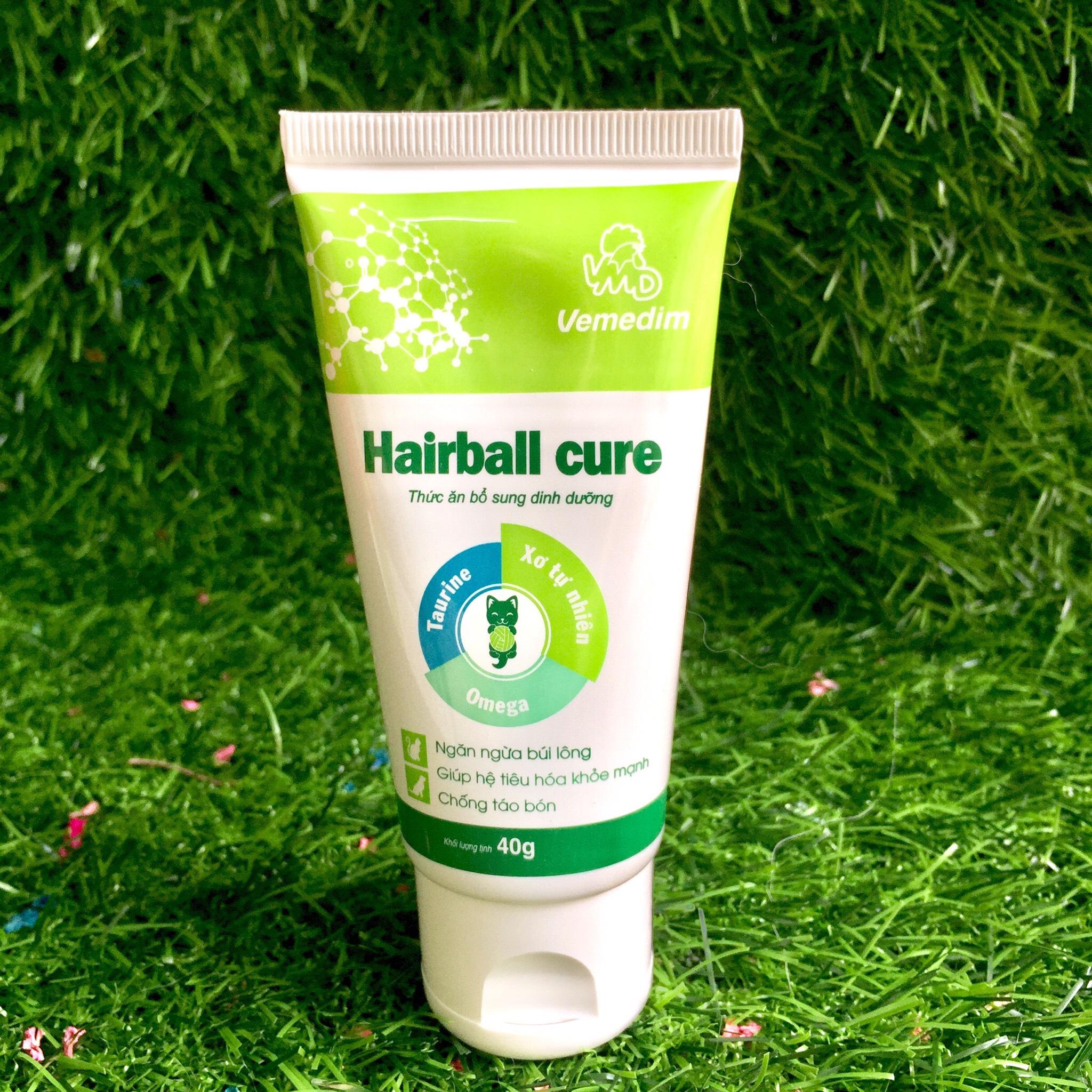 Hairball Cure – Giải Quyết Búi Lông Trong Dạ Dày Và Ruột Chó Mèo Trên 6 Tháng Tuổi – Một Sản Phẩm Của Thương Hiệu Vemedim Uy Tín Chất Lượng Về Chế Phẩm Sinh Học Dùng Trong Chăn Nuôi – HC01