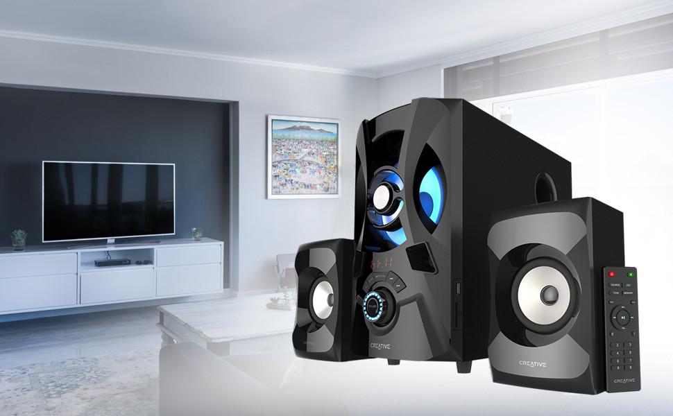 Loa Bluetooth Creative SBS E2900 - Hàng chính hãng