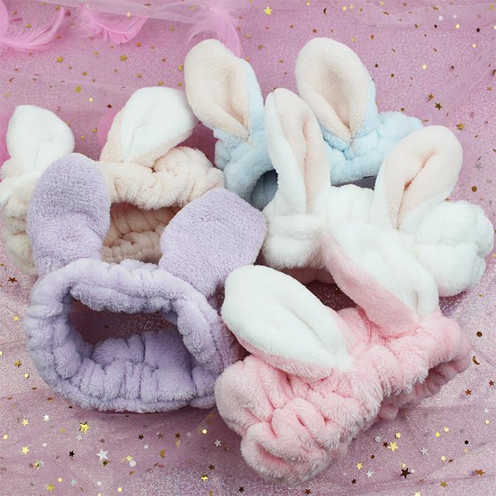 Băng đô vải nhung 3D cute mẫu ngẫu nhiên