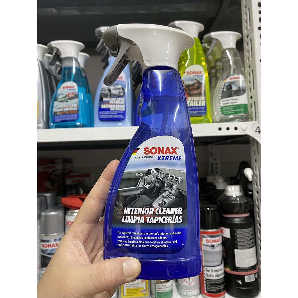 Dung Dịch Làm Sạch Khoang Nội Thất Xe Xtreme Có Khử Mùi SONAX Xtreme Interior Cleaner 221241 (500ml) – Hàng Đức Chính Hãng
