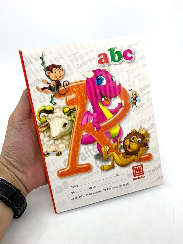Vở Class ABC 4 ÔLy Vuông (96 Trang) - Mẫu 4