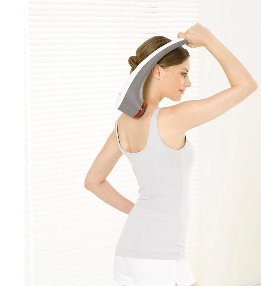 Combo Máy Massage Cầm Tay Đèn Hồng Ngoại Beurer MG55 + Nhiệt Kế Điện Tử Đầu Mềm Medilife ( hình thú ngẫu nhiên )