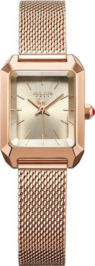 Đồng Hồ Nữ Dây Kim Loại Julius JA1013 (28mm) - Vàng Đồng