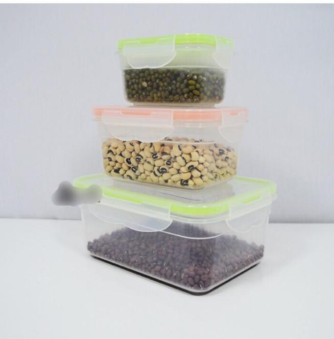 Bộ 7 hộp nhựa bảo quản thực phẩm Tashuan