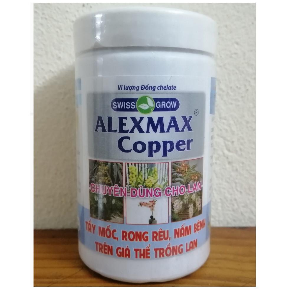 Vi Lượng Đồng chelate ALEXMAX Copper, Chuyên Dùng Cho Hoa Lan, Tẩy Mốc, Rong Rêu, Nấm Bệnh Trên Giá Thể Trồng Lan, Thể Tích:100ml