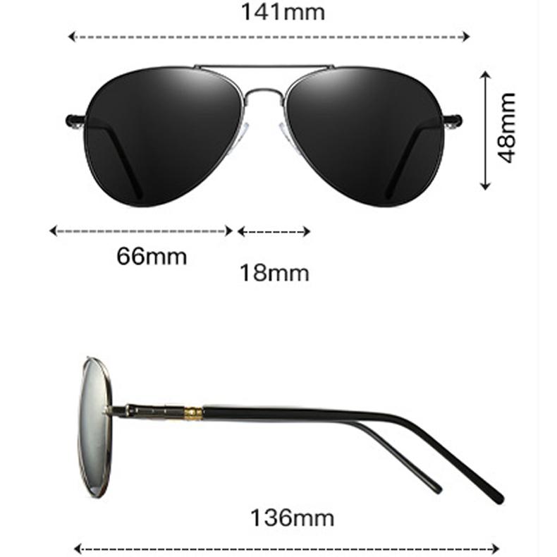 Kính mắt nam KASAWI KM09 - Kính mát nam kính phi công  Kính râm phân cực kính râm đặc biệt nam,kiểu dáng thời trang