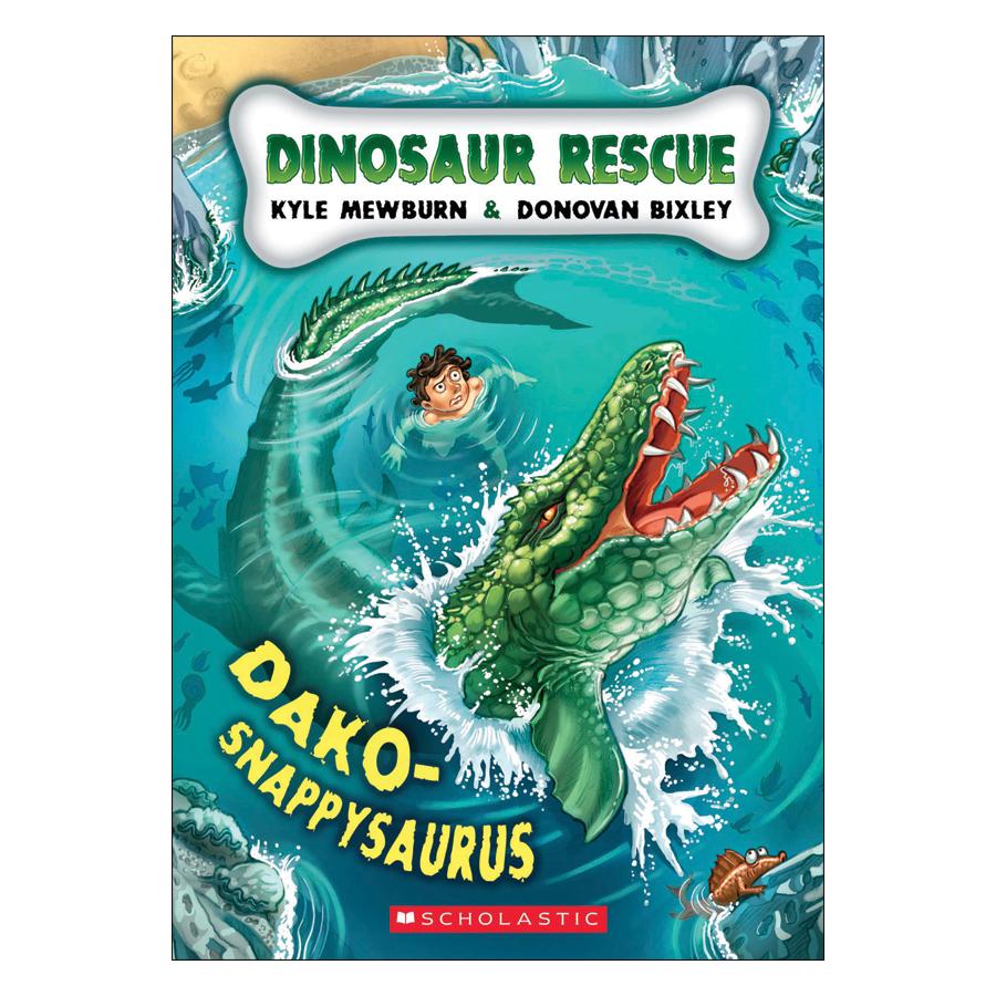 Dinosaur Rescue #6: Dako-Snappysaurus
