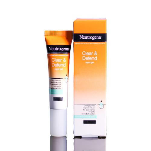 Kem kháng mụn Neutrogena Clear & Defend Rapid Gel 15ml
