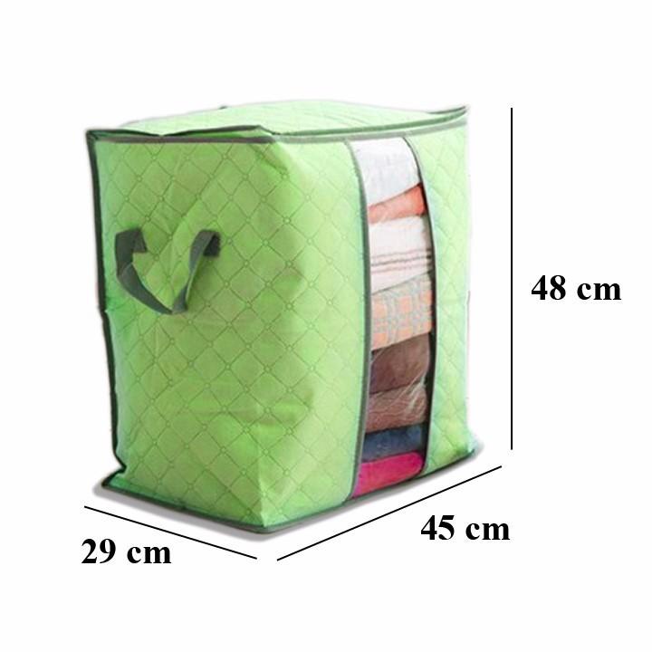 Bộ 03 túi đựng chăn màn quần áo gấp gọn tiện dụng