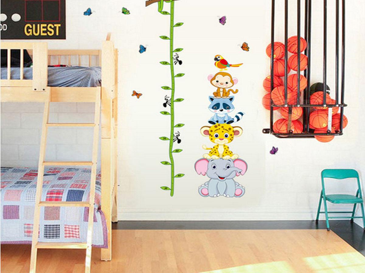 Decal dán tường cho bé thước thú ngộ nghĩnh ay9201