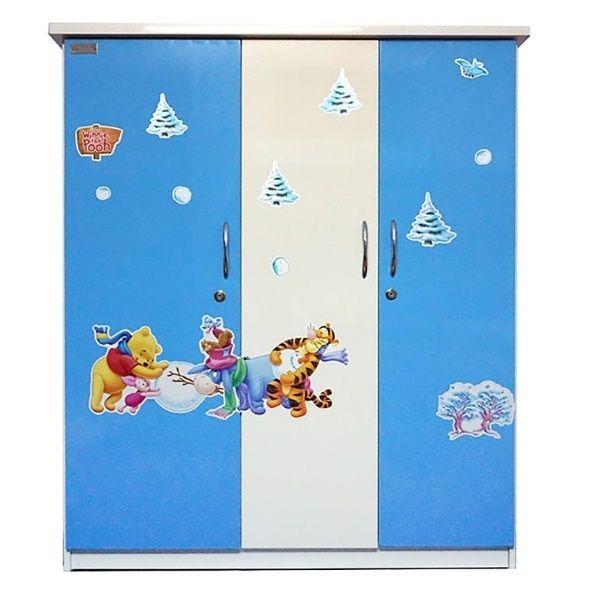 Tủ nhựa Jang Mi TE 03 125 x 105 x 45 cm