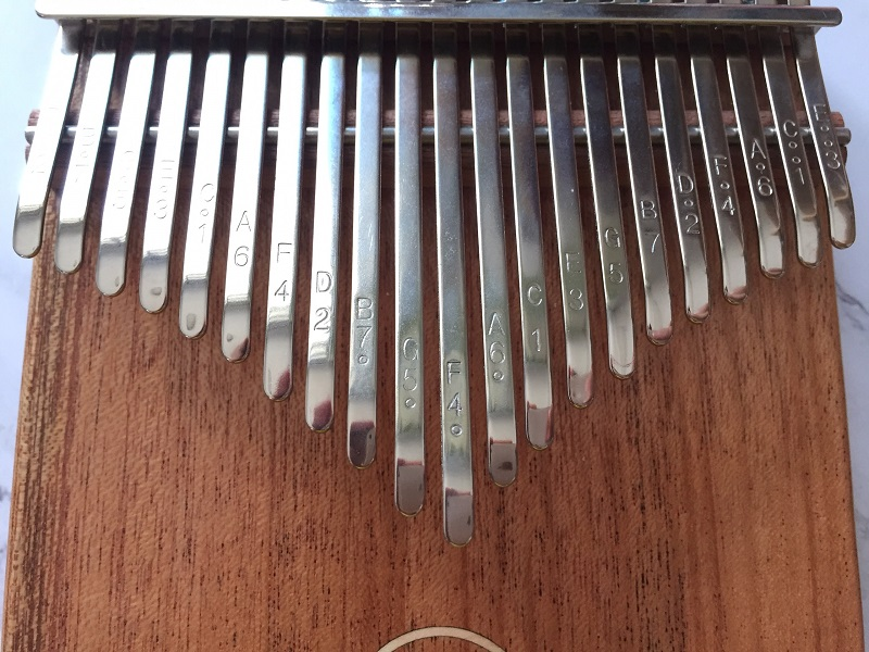Đàn Kalimba Âm Đáy 21 Phím Gỗ Mahogany Nhạc Cụ Cầm Tay