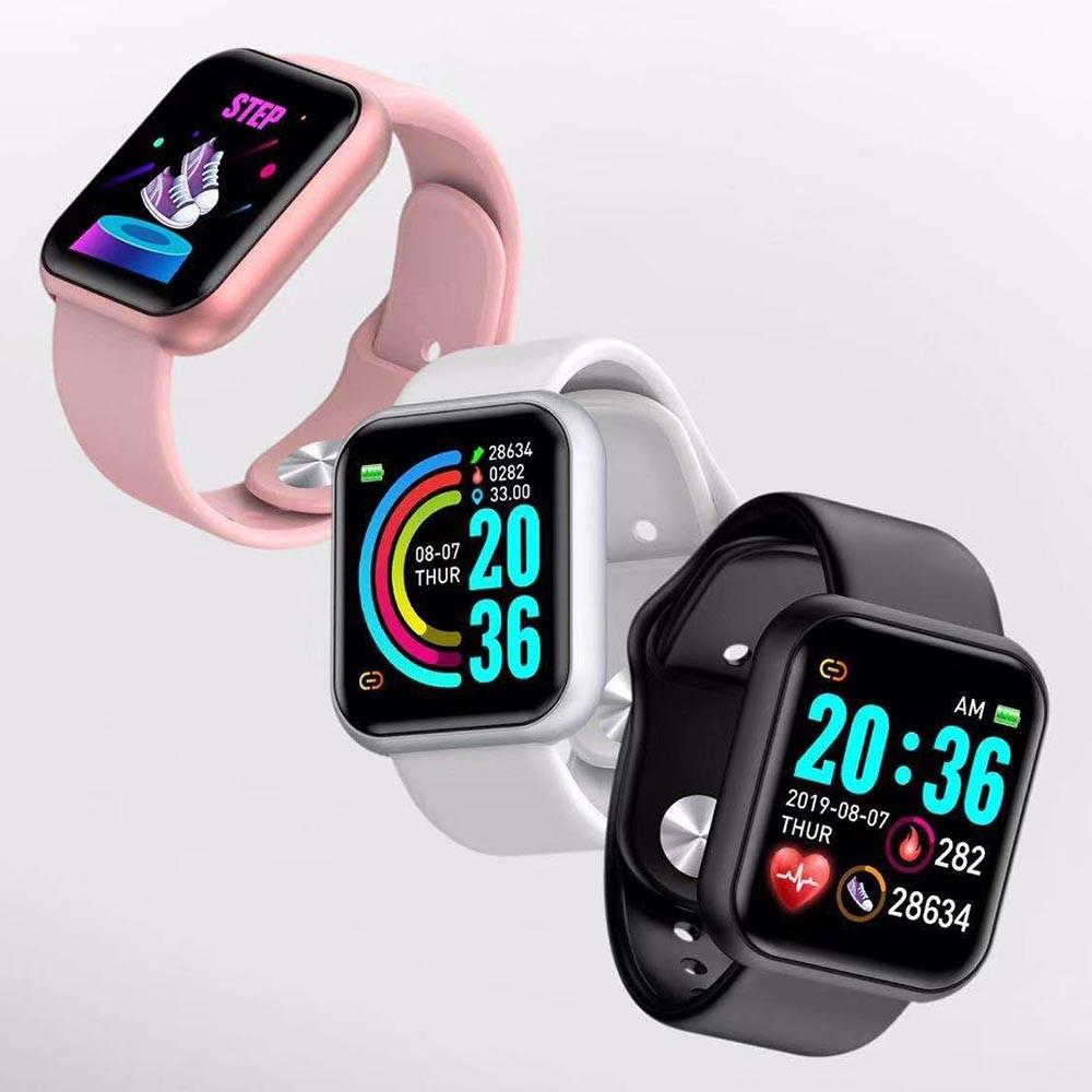Đồng hồ thông minh Y68 kết nối điện thoại và đo nhịp tim, huyết áp, nghe gọi và nhắn tin