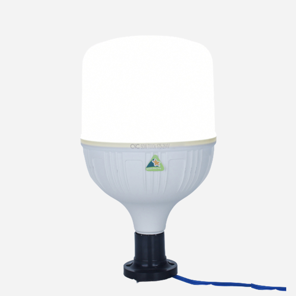 Bóng đèn LED BULB CVC công suất 20W siêu sáng, tiết kiệm điện năng - độ bền cao dưới mọi thời tiết, bền bỉ với thời gian, Tuổi thọ (h)> 50000