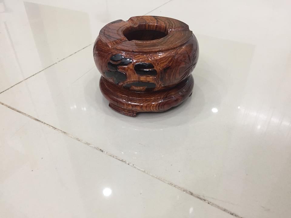 Gạt tàn thuốc gỗ cẩm lai nhiều mẫu