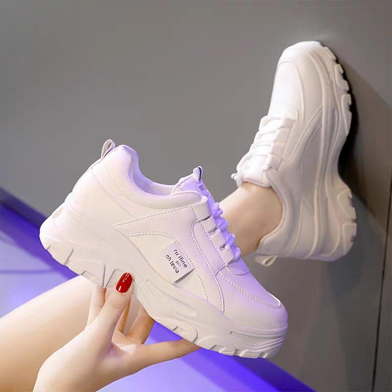 Giày sneakers nữ Rong Ye kiểu hàn quốc siêu Hot , mới nhất 2020 HAPU ( 2 màu )