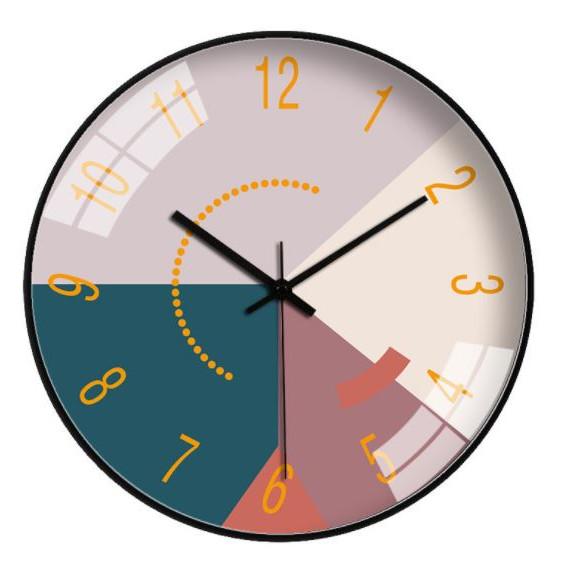 Đồng hồ treo tường, Mặt Kính Tráng Gương Cao Cấp