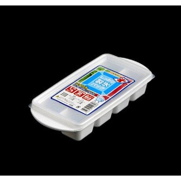Khay làm đá trữ đồ ăn dặm 8 ngăn có nắp nhựa cao cấp An toàn hàng Nhật Bản
