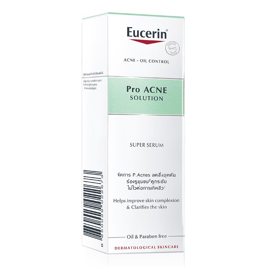 Tinh Chất Giảm Mụn Trứng Cá, Mờ Sẹo Eucerin Pro Acne Solution (30ml)