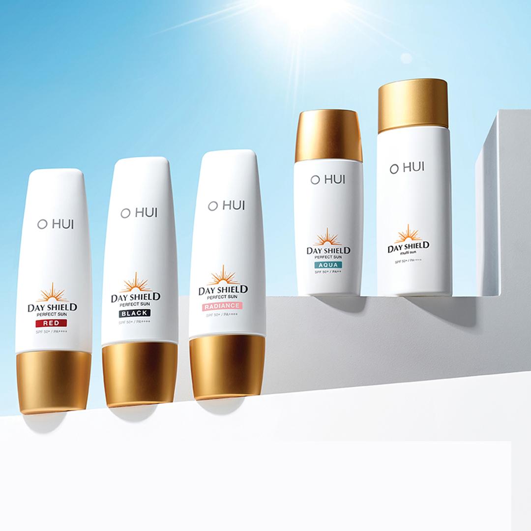 Kem chống nắng nâng tông da OHUI Day Shield Perfect Sun Radiance SPF 50+/PA++++ 50ml