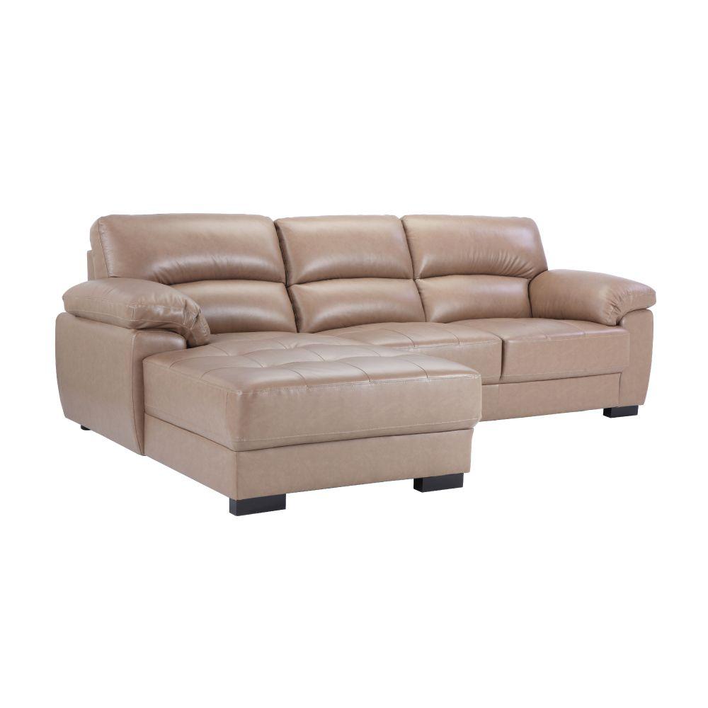 Sofa Góc L/Phải MORETTO Màu Nâu Nhạt Index Living Mall